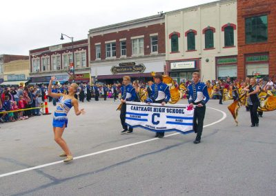Parade 2016 - Carthage High School Marching Band