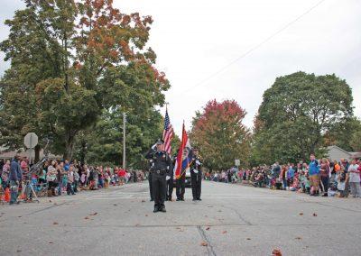 Parade 2016 - Carthage Police Color Guard