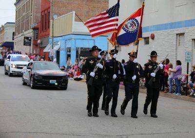 Parade 2017 - Police Color Guard