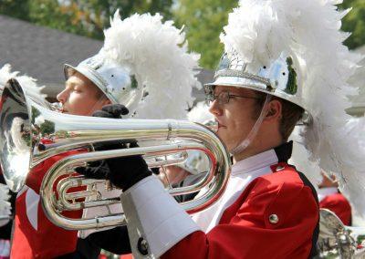 Parade 2016 - Webb City High School Marching Band